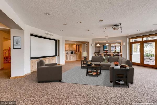 Lower Level Remodel - Inver Grove Heights, Mn.
